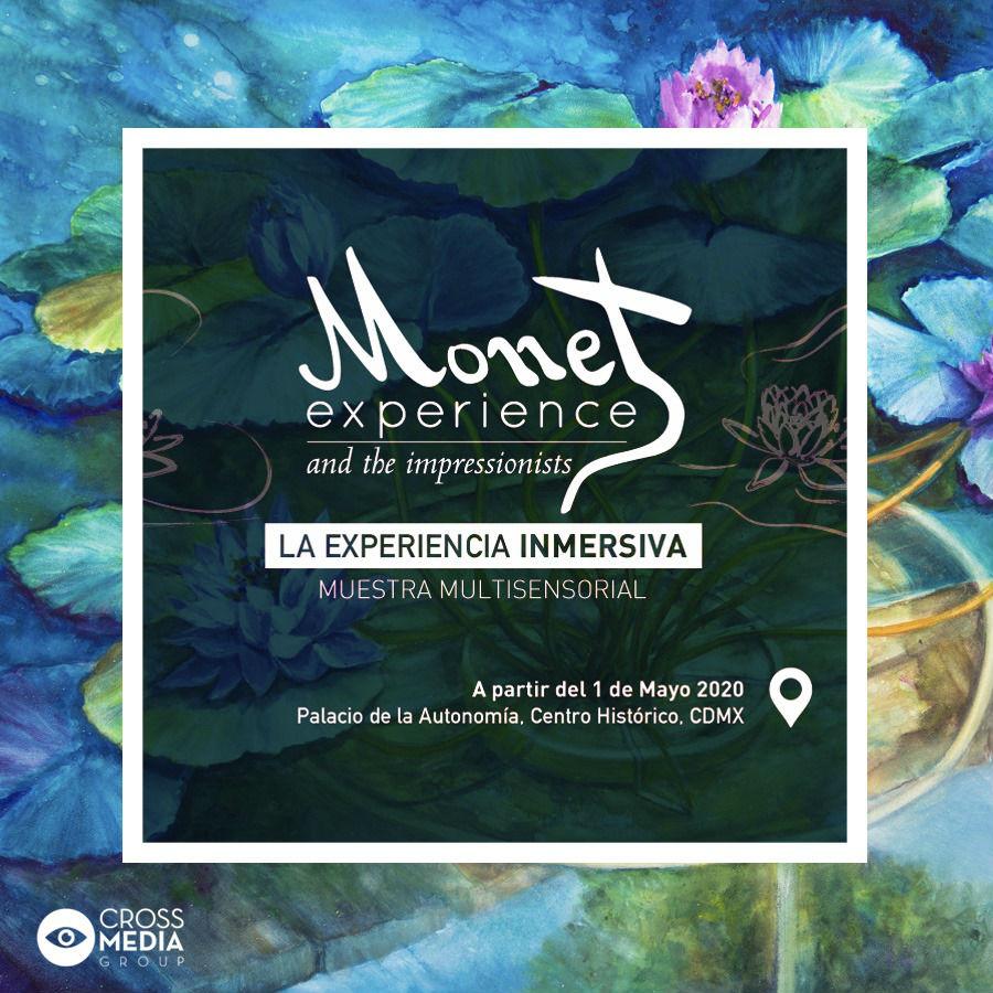 The Monet Experience llega a México en mayo