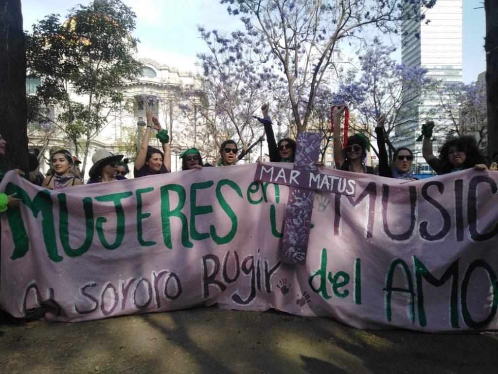 Foto: colectivo Mujeres en la Música, al