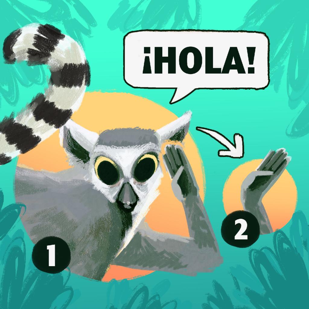 """""""¡Hola!"""" en Lengua de Señas Mexicana"""