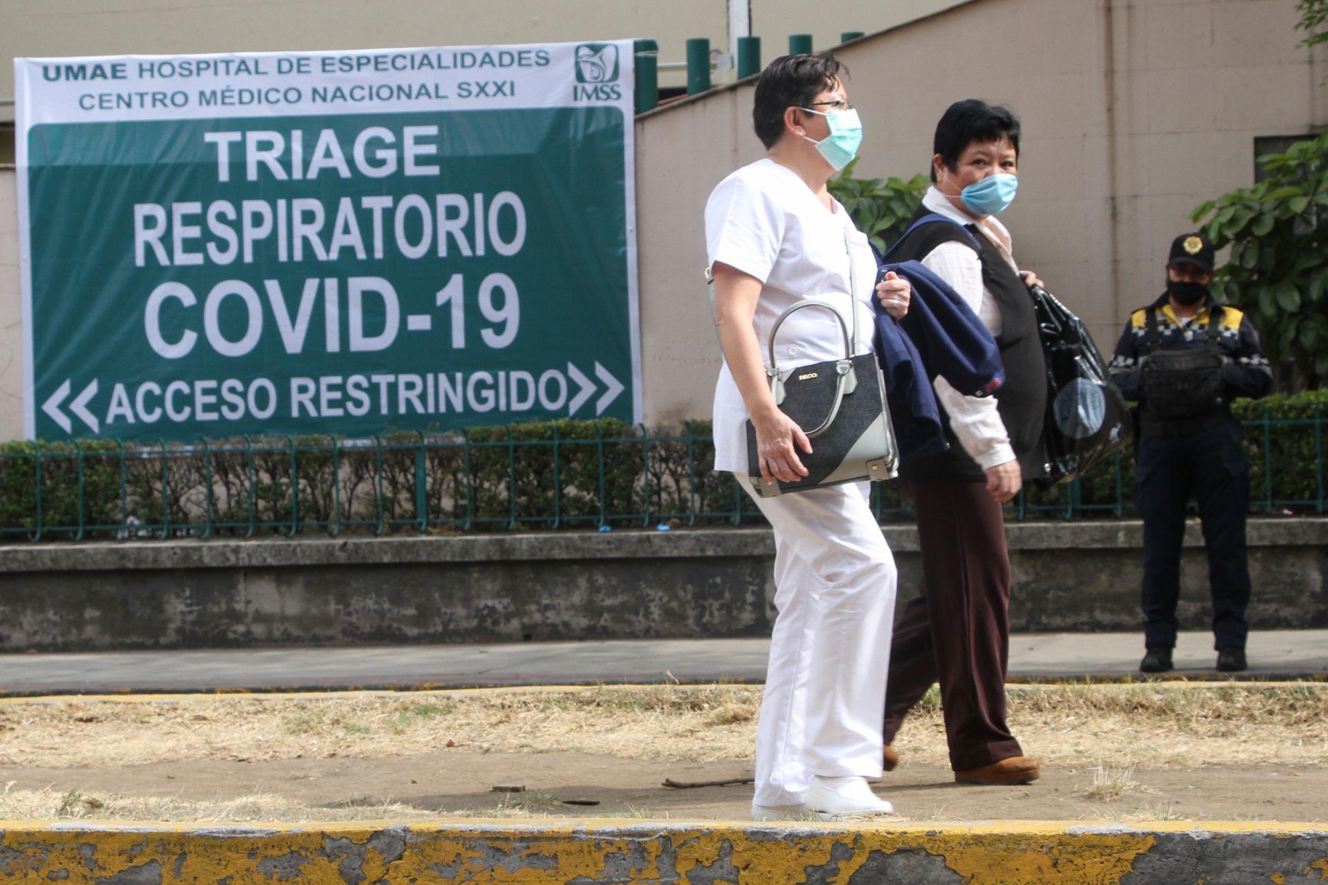 personal medico covid 19 mexico