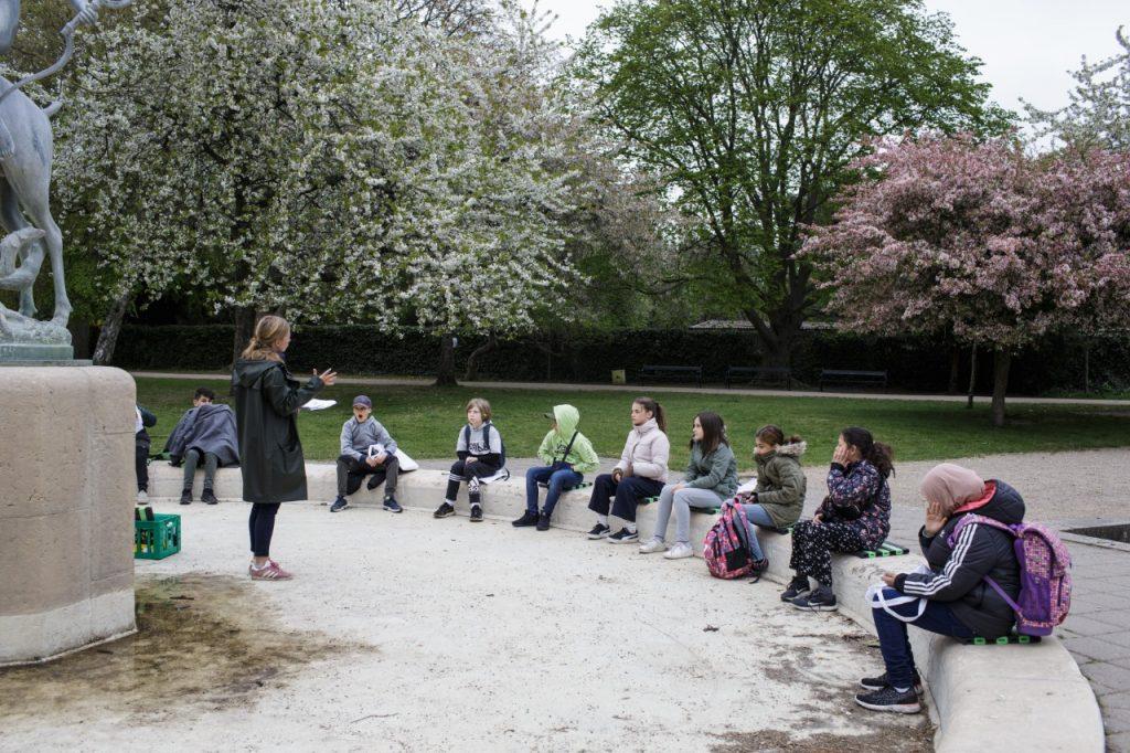 La mayoría de las clases en Dinamarca son al aire libre. Foto: AFP