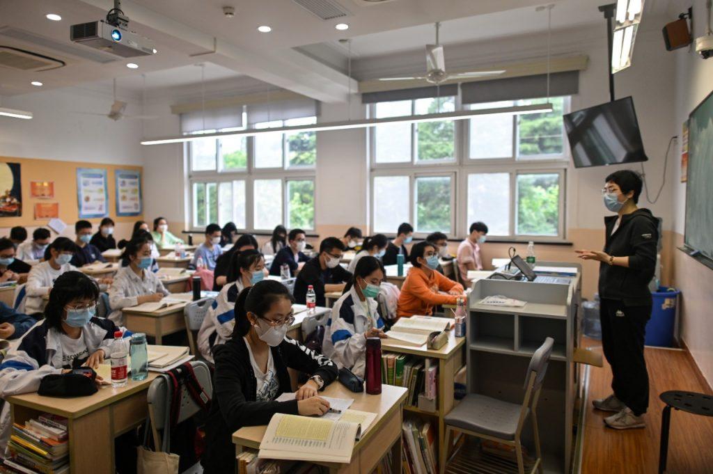 También en otras partes de China. Foto: AFP