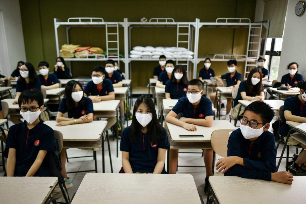 Vietnam ha vuelto a abrir casi todas las escuelas. Foto: AFP