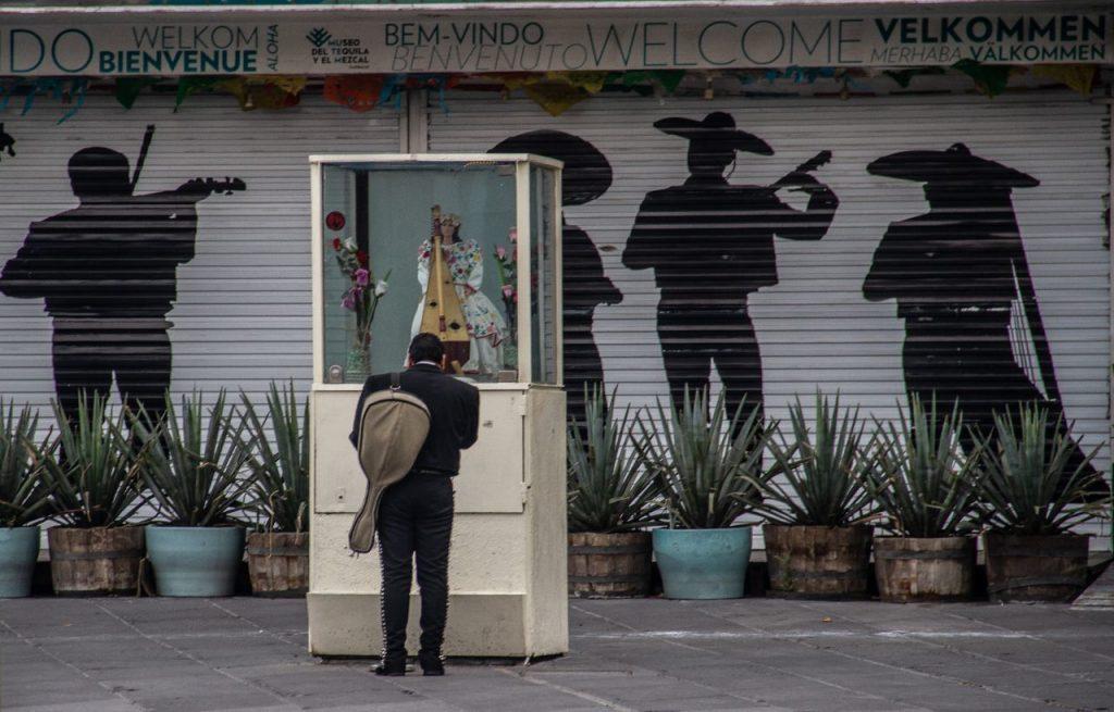 A través de una campaña en Donadora piden ayudar a los mariachis. Foto: Andrea Murcia | Cuartoscuro