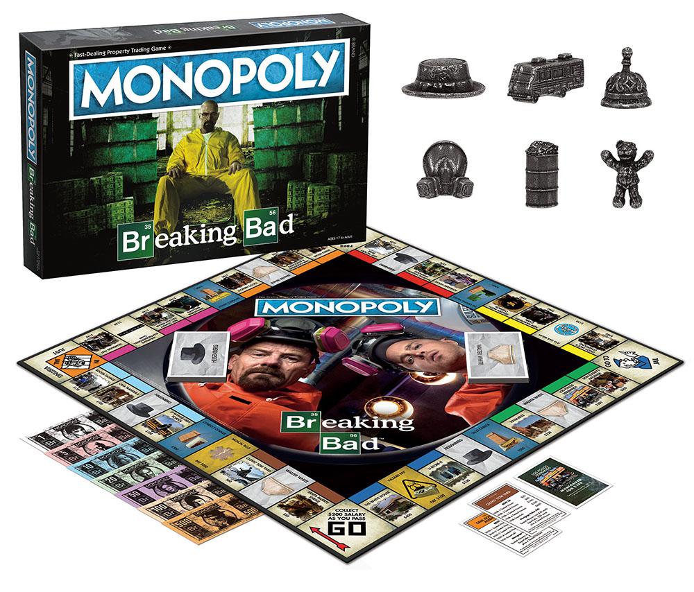 El Monopoly de Breaking Bad aún no está disponible en México. Foto: usaopoly