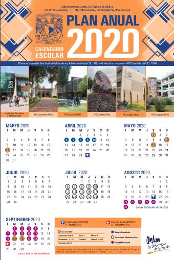plan anual unam 2020