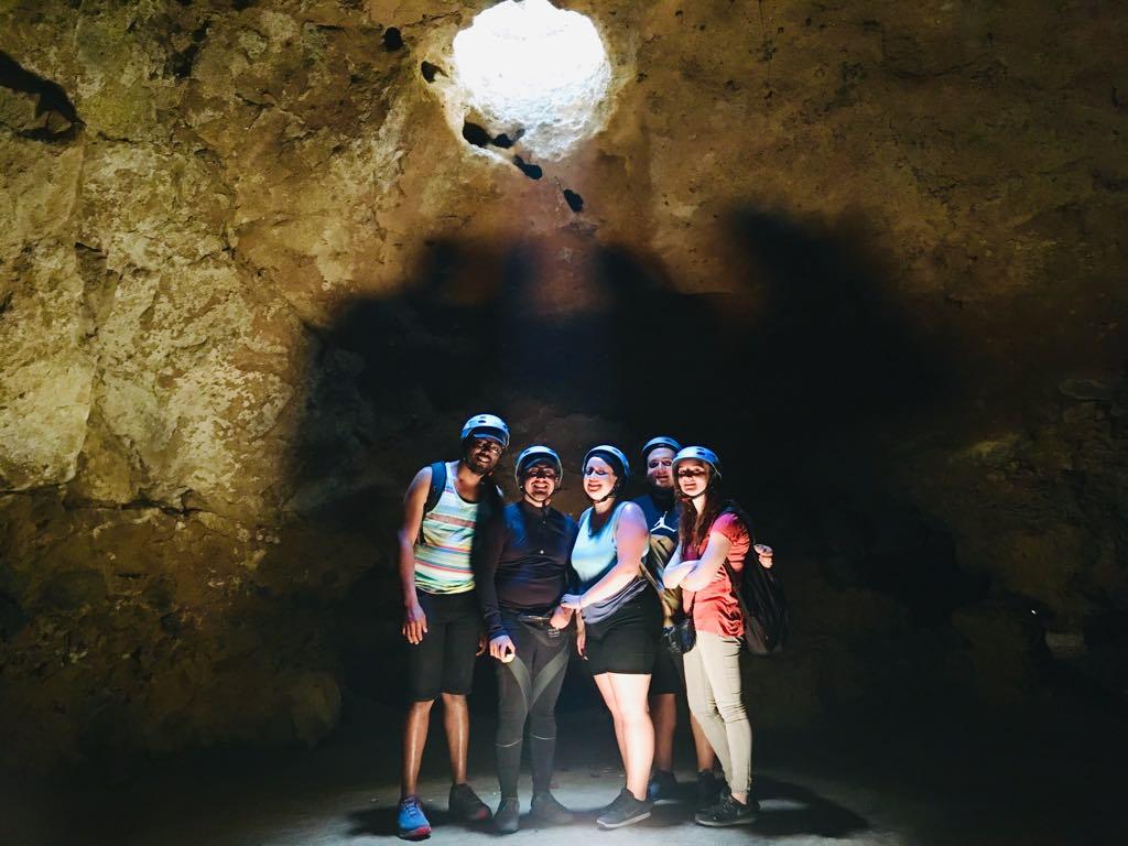 Podrás visitar la cueva en Teotihuacan. Foto cortesía de LUNA Autocine.
