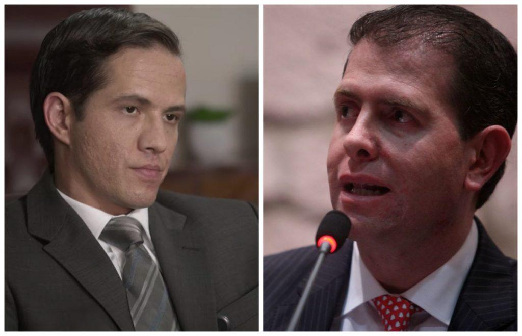 Fotos: (izq) Adrián Ladrón, Netflix; (der) Alfredo Castillo, Cuartoscuro
