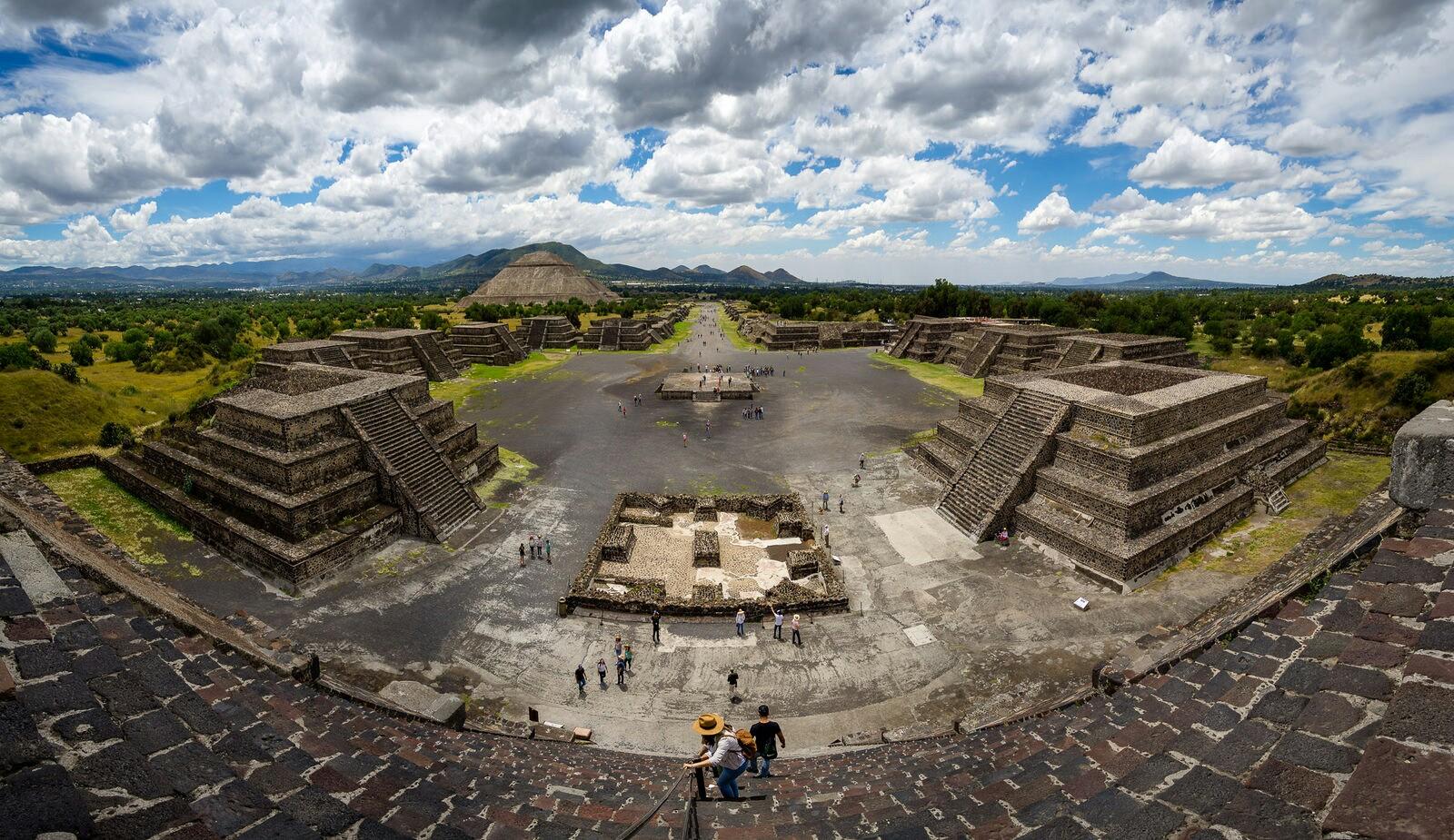 teotihuacan zonas arqueologicas