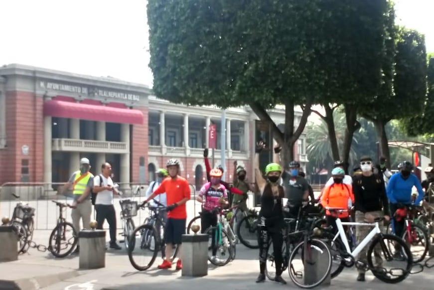 El colectivo Bikenepantla también está involucrado en la rodada ciclista godín del Edomex a CDMX.