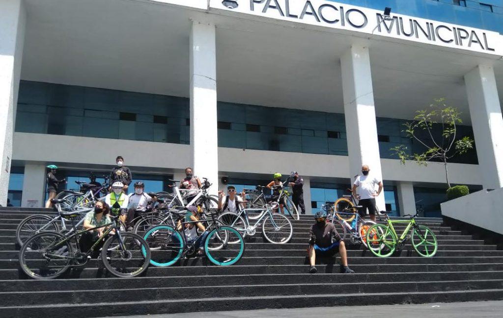 El colectivo Bicimixtles es parte de quienes organizan la rodada ciclista godín.