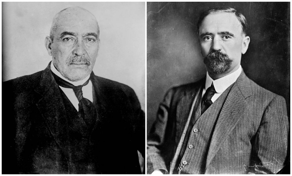 La Secretaría de Cultura de la CDMX tuiteó una foto de Francisco I. Madero, pero haciendo referencia a Victoriano Huerta.