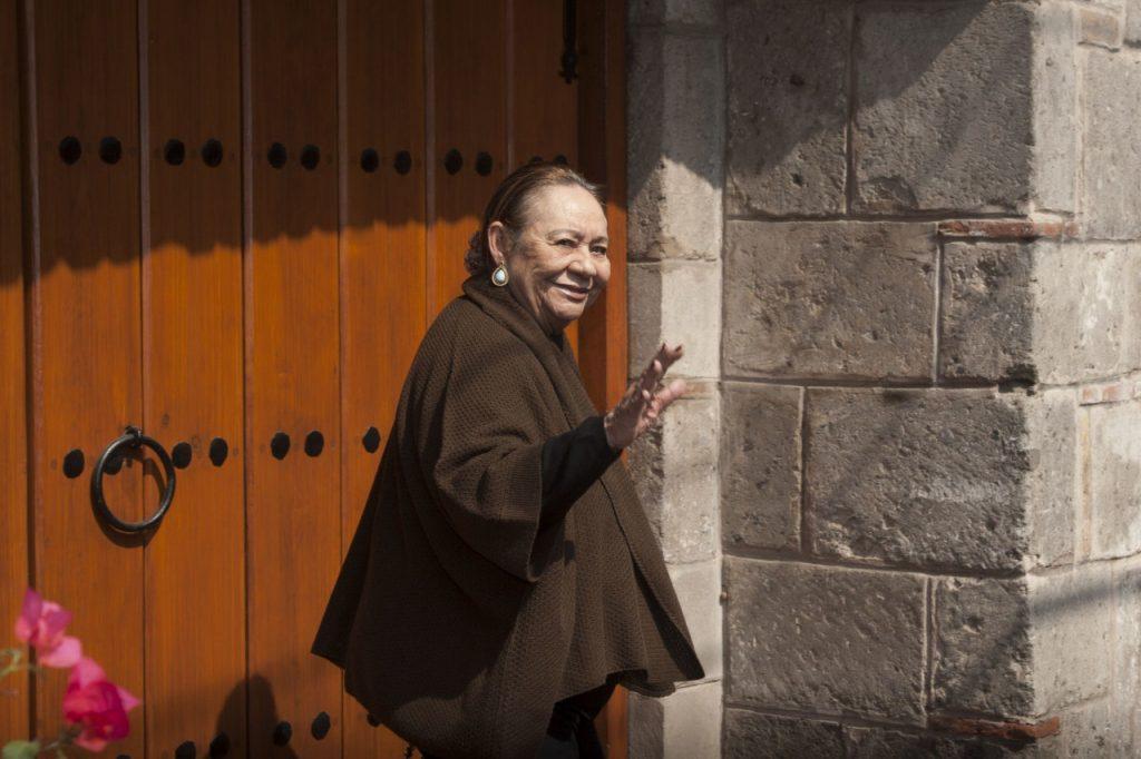 Mercedes Barcha, viuda de García Márquez, muere en CDMX. Foto: Cuartoscuro
