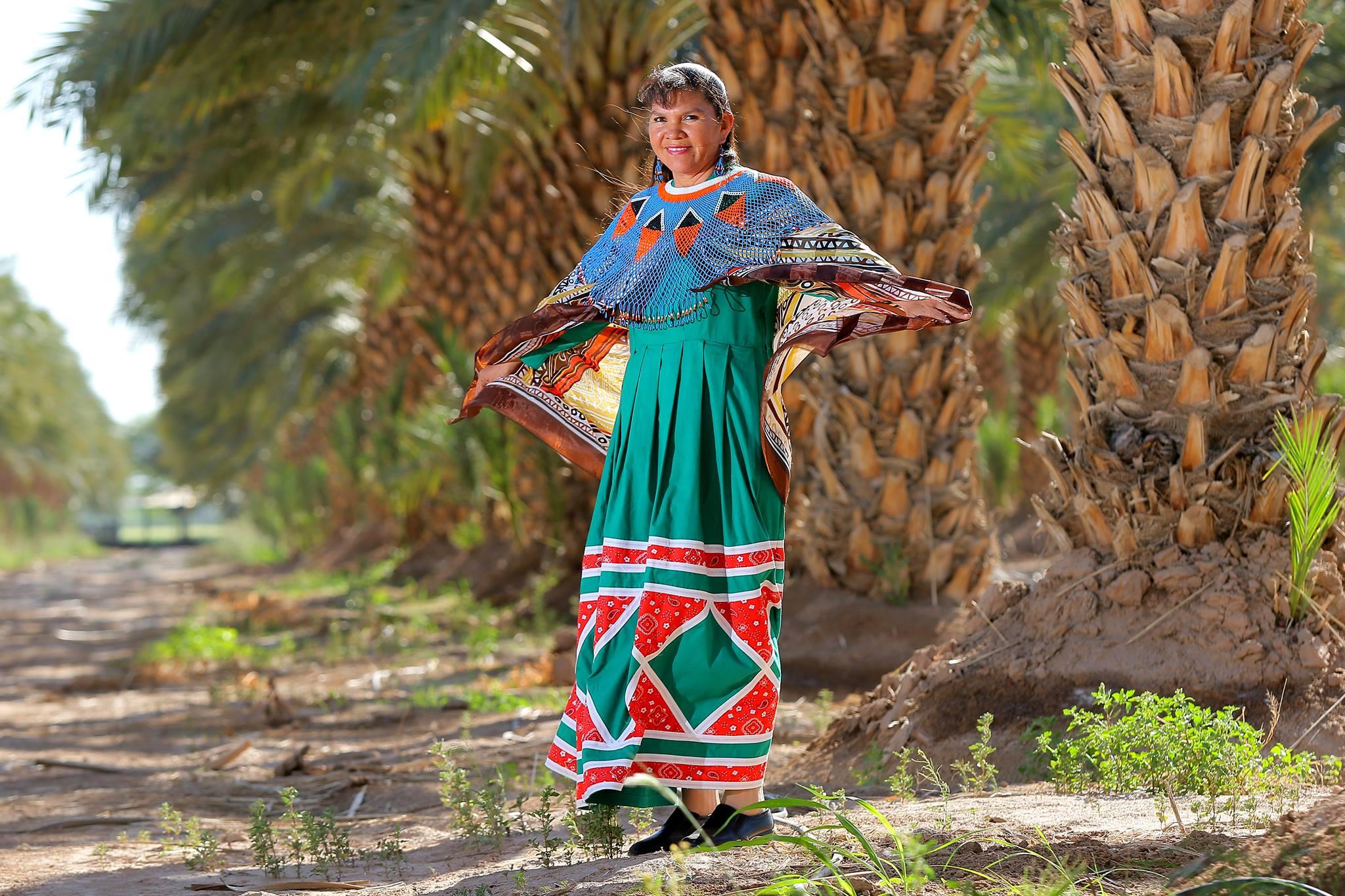 Amelia Chan Díaz, from the Cucapá tribe.  International Day of Indigenous Women.