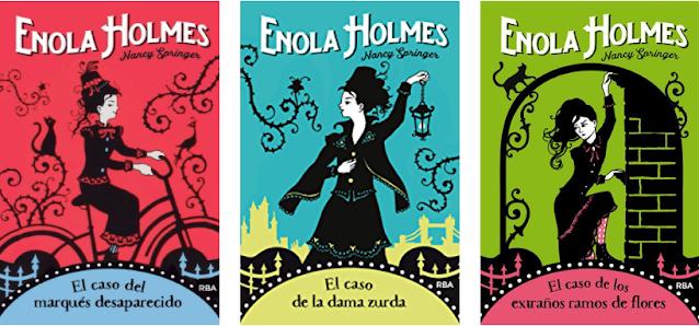 Enola Holmes libros