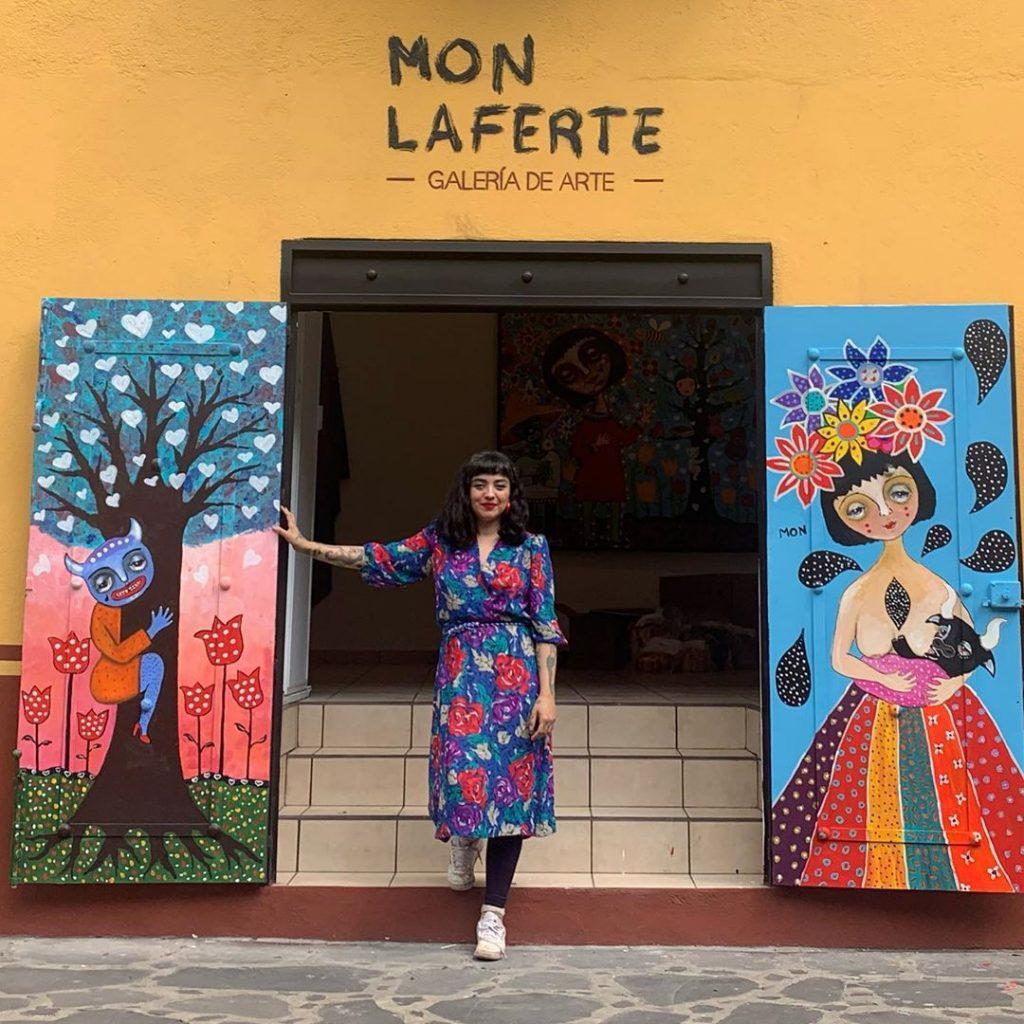 La galería de arte estará en Tepoztlán. Foto: IG @monlaferte