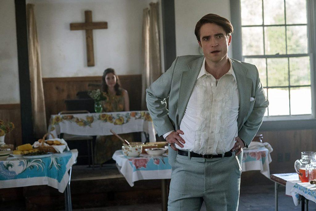 Robert Pattinson interpreta a un oscuro predicador.