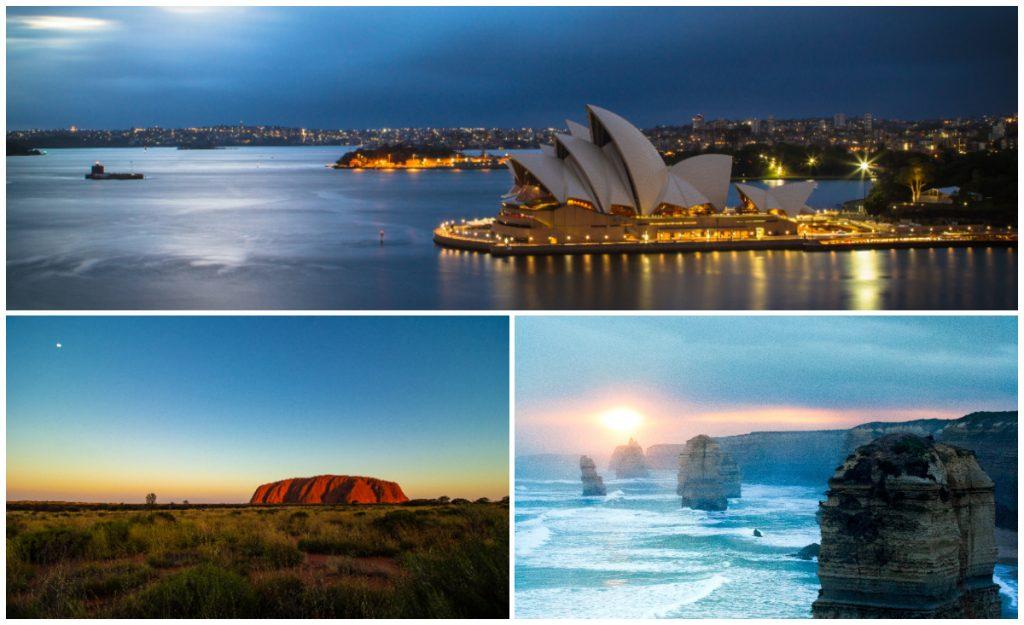 El vuelo a ningún lugar sobrevolará Sidney, varias playas australianas, Uluru y otros puntos interesantes del país.