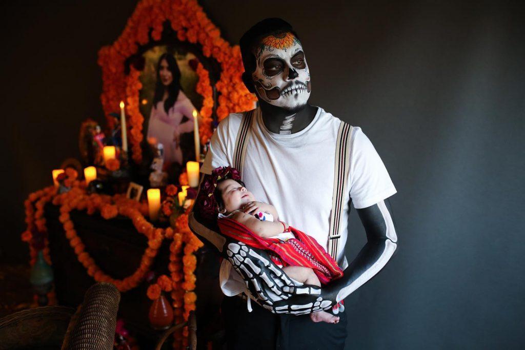 La fotógrafa Vanessa Marie Carbajal tomó estas imágenes de James Alvarez y Adalyn Rose. Foto: tomada de Facebook
