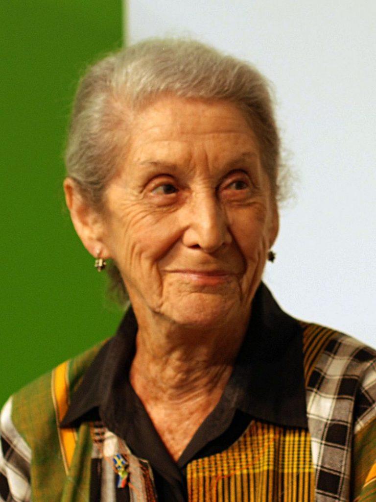 Nadine Gordimer. Foto: Wikimedia Commons