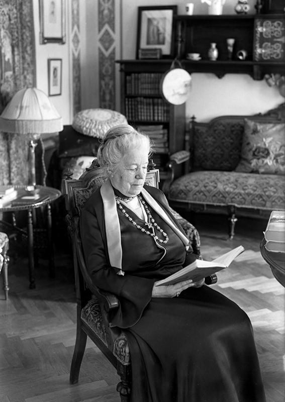Selma Lagerlöf. Foto: Wikimedia Commons