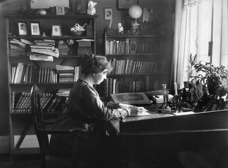 Sigrid Undset. Foto: Wikimedia Commons