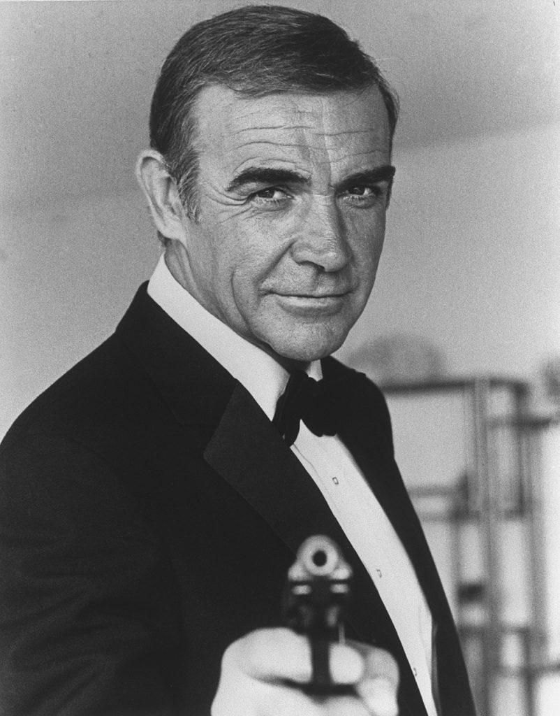 Connery se retiró de la actuación en 2003. Foto: AFP