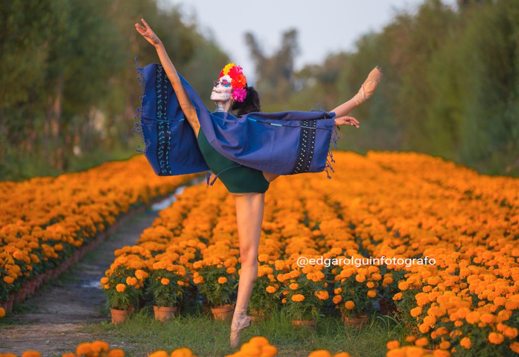 Danzatrinas en Xochimilco, CDMX. Foto: Cortesía Edgar Olguín