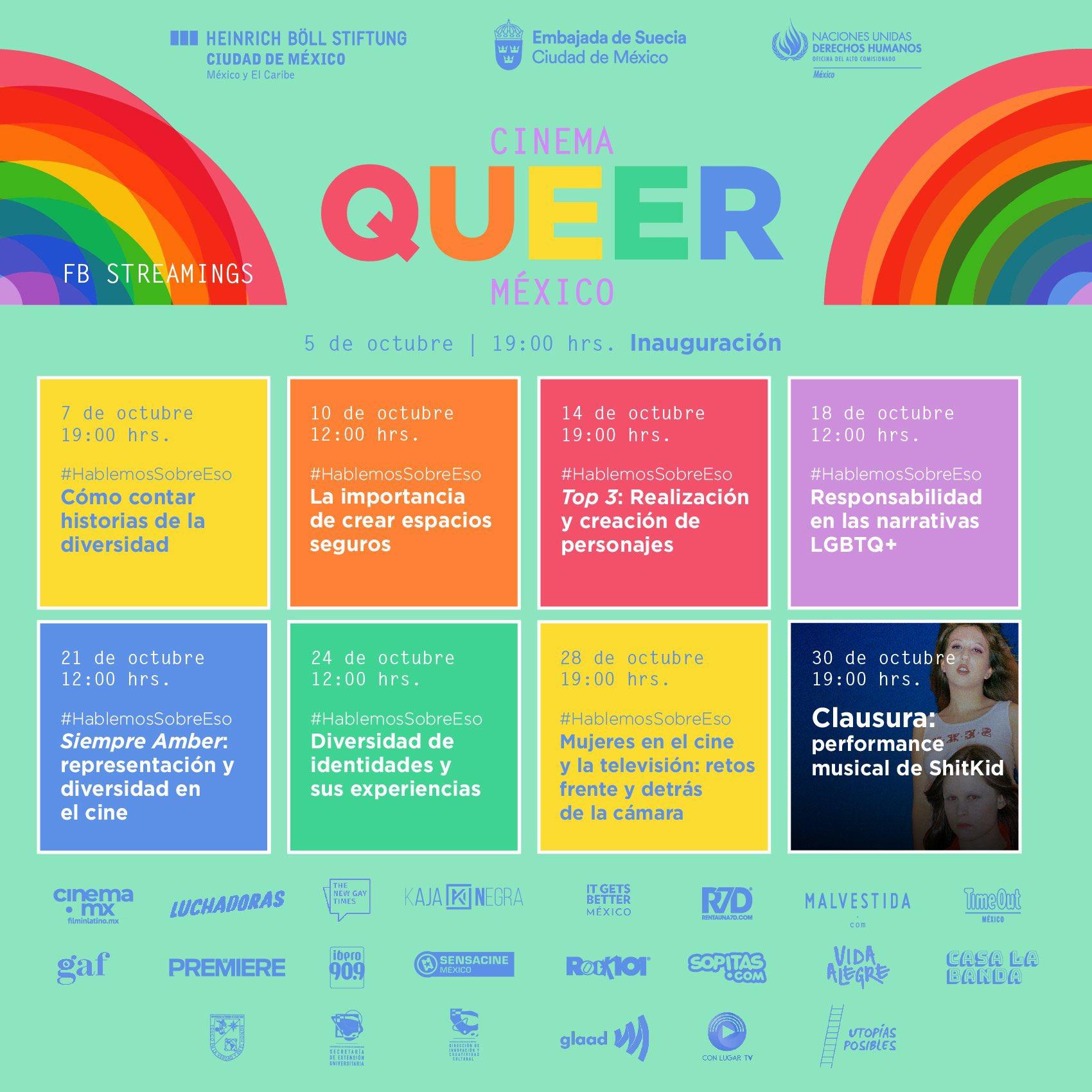 cinema queer calendario de charlas