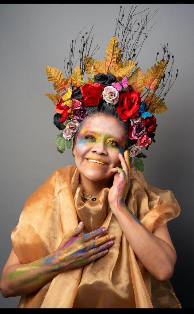 Exposición 'Mujeres de hierro'. Modelo: Ana | Fotógrafo: Gerardo Cárdenas | Maquillaje: Viktor Darkness y Seth Nava