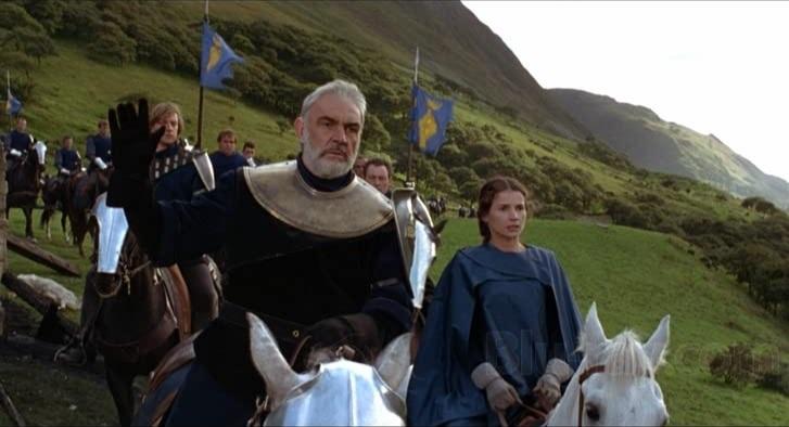 Connery le dio vida al Rey Arturo en 'First Knight'. Foto: Especial