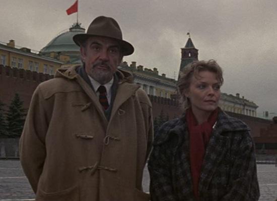 En 'The Russia House' interpreta a un escritor que trabaja para la inteligencia británica. Foto: Especial