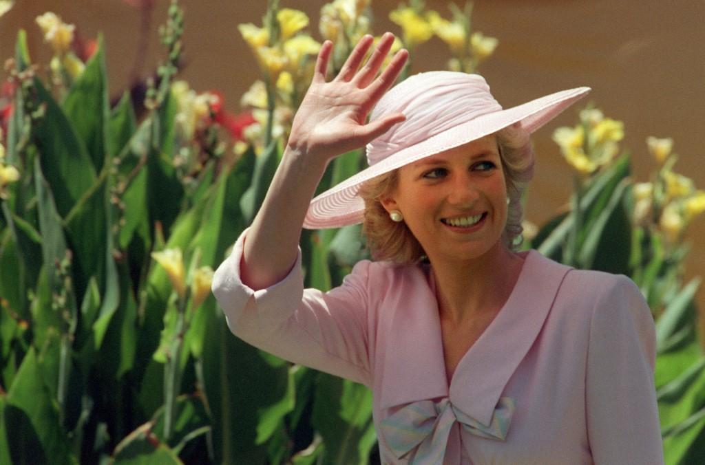 Foto de la princesa Diana de Gales tomada el 27 de enero de 1988. Foto: Patrick Riviere / AFP
