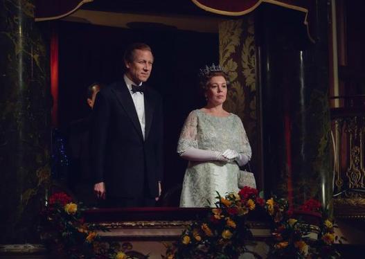 Olivia Colman como la Reina Isabel en The Crown. Foto: @thecrownnetflix