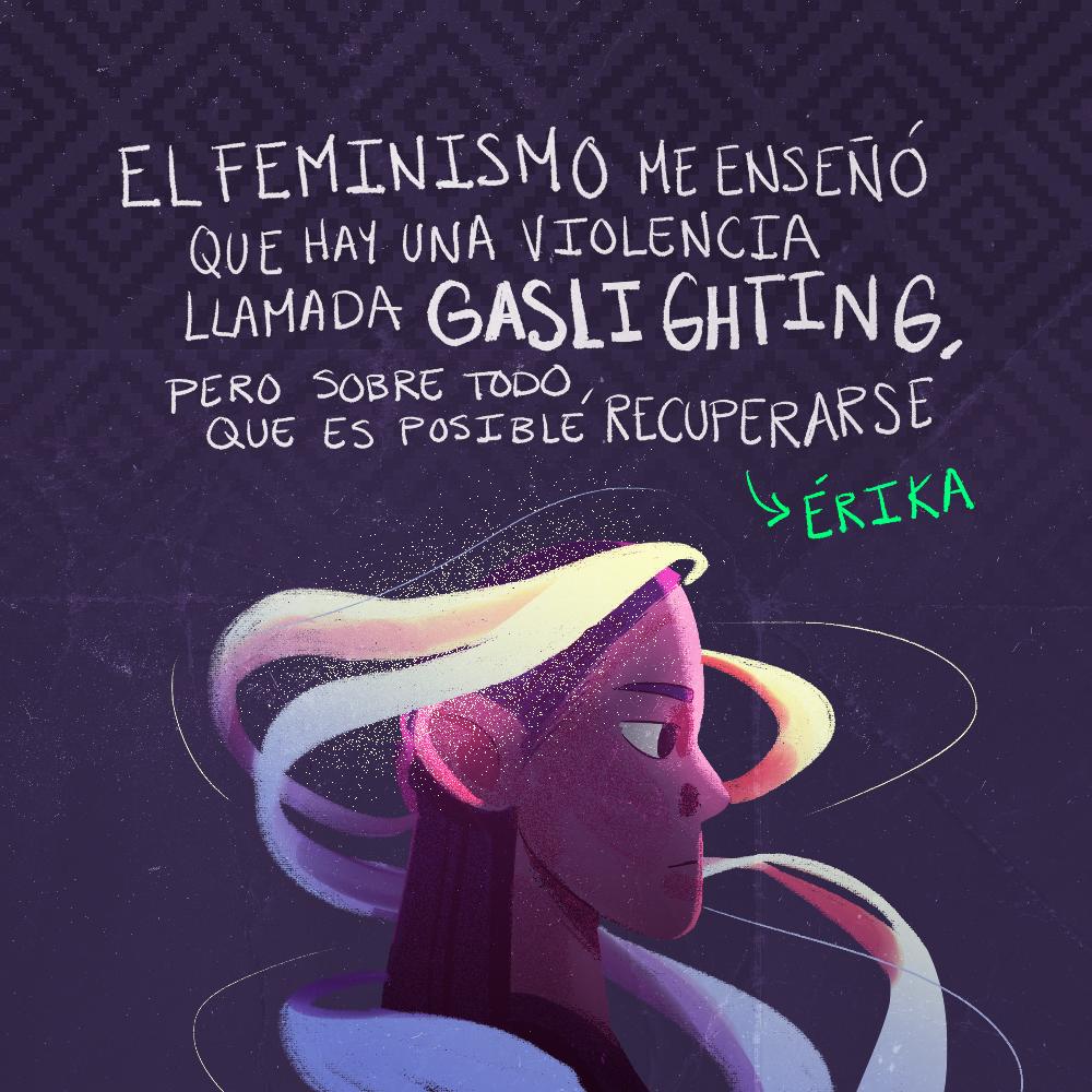Testimonio de Érika Choperena. Ilustración: @Driu_Paredes