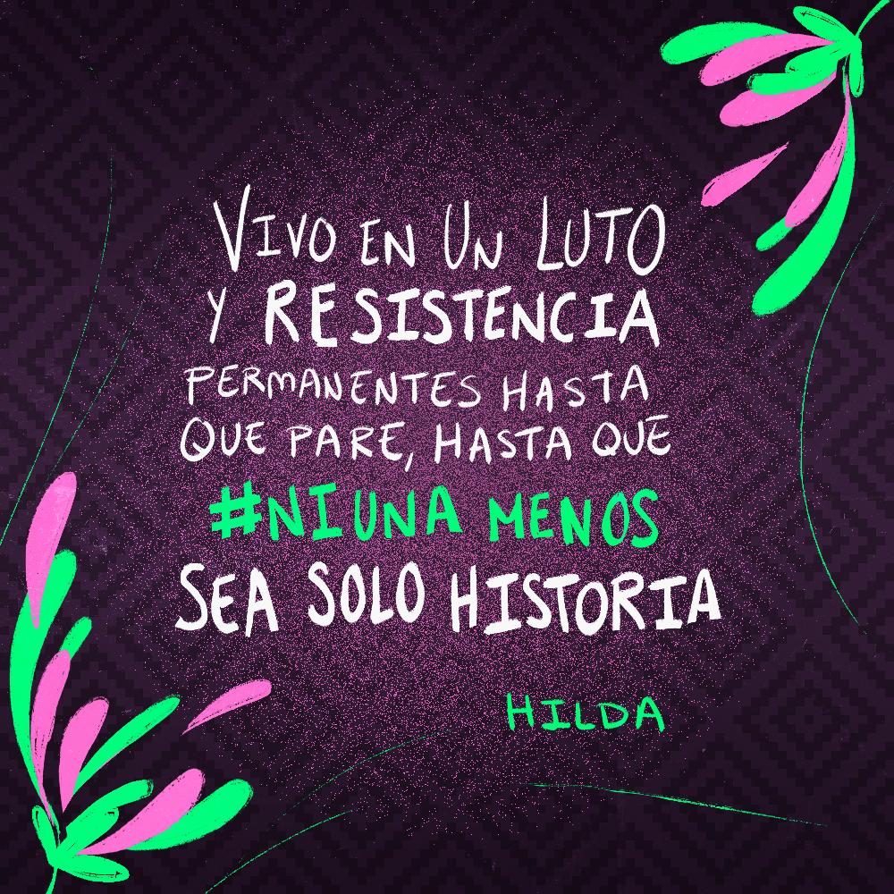 Testimonio de Hilda Téllez Lino. Ilustración: @Driu_Paredes