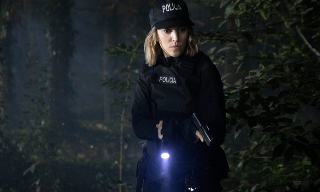 La Corazonada con la actriz Luisana Lopilato como la policía Manuela Pelari, 'Pipa'. Foto: Netflix