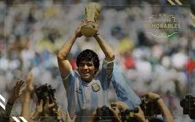 'El diez' le dio a Argentina su segundo Mundial en 1986. Foto: Asociación de Futbol Argentino