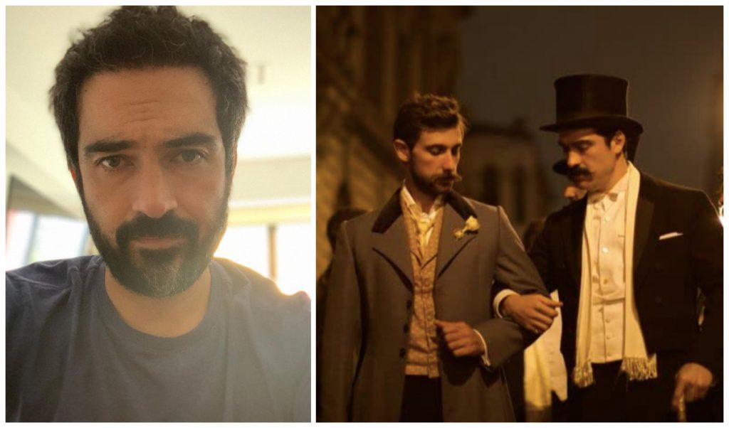 Alfonso Herrera interpreta a Ignacio de la Torre, yerno de Porfirio Díaz. (Fotos: Ig @ponchohd | IMdb)