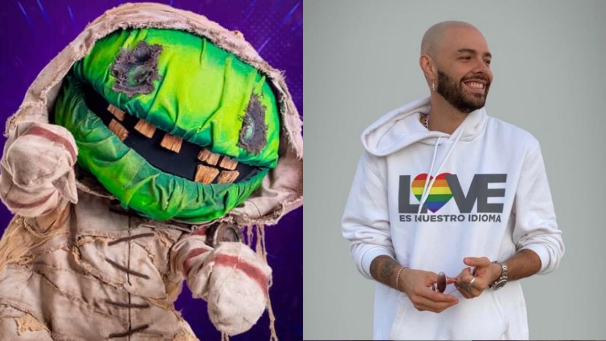 jesse y joy zombie quien es la mascara