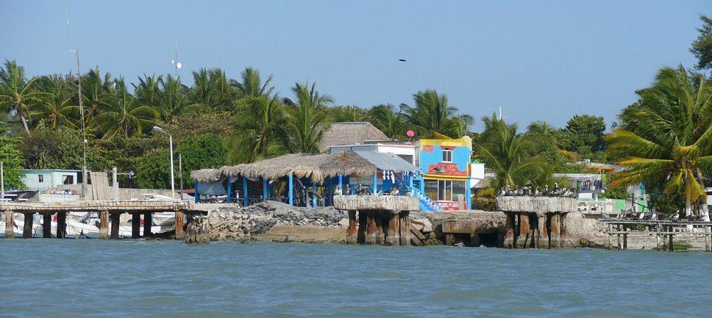 Isla Aguada, Campeche. Foto: Wikimedia Commons