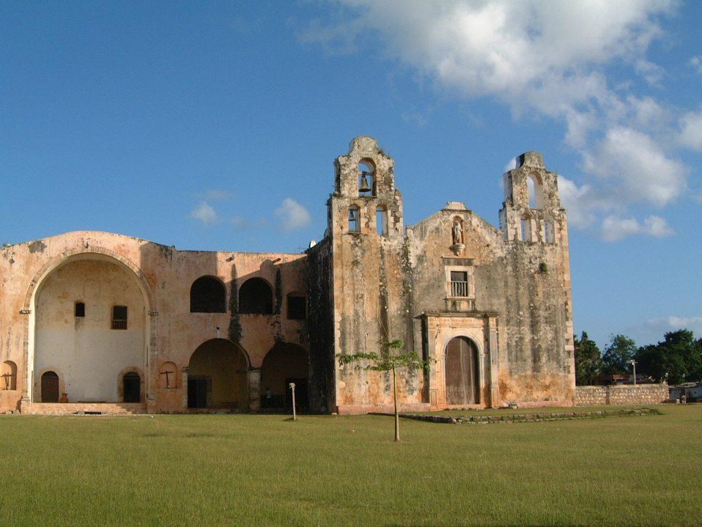 Maní, Yucatán. Foto: Wikimedia Commons