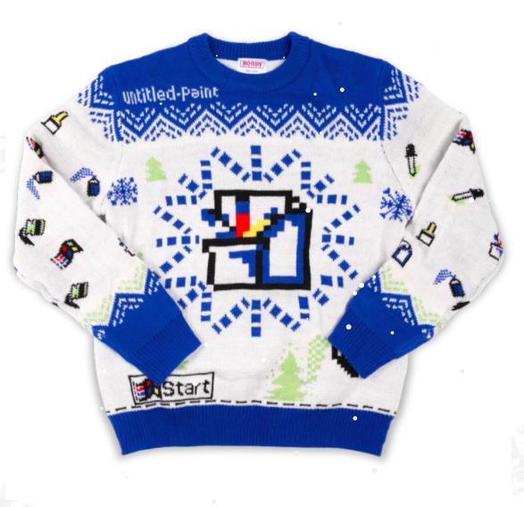 Suéter feo de MS Paint. Foto: Gear.xbox.com
