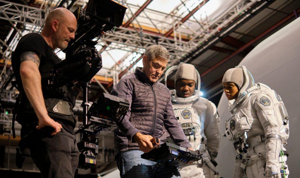 Georgeo Clooney protagoniza y dirige Cielo de medianoche. Foto: Netflix