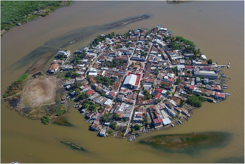 Mexcaltitán, Nayarit. Isla Pueblo Mágico. Foto: Wikimedia Commons