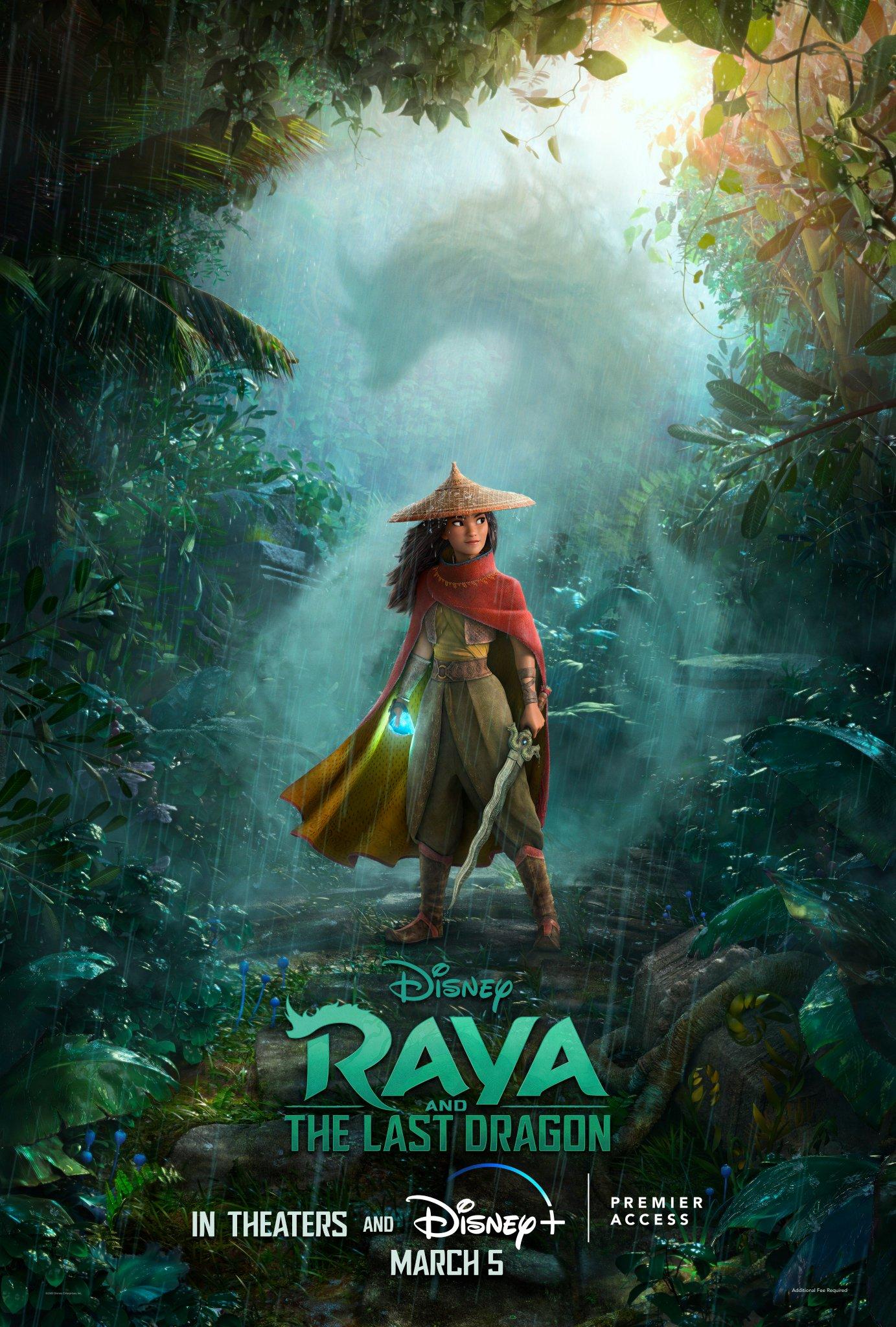 raya and the last dragon estrenara en disney plus