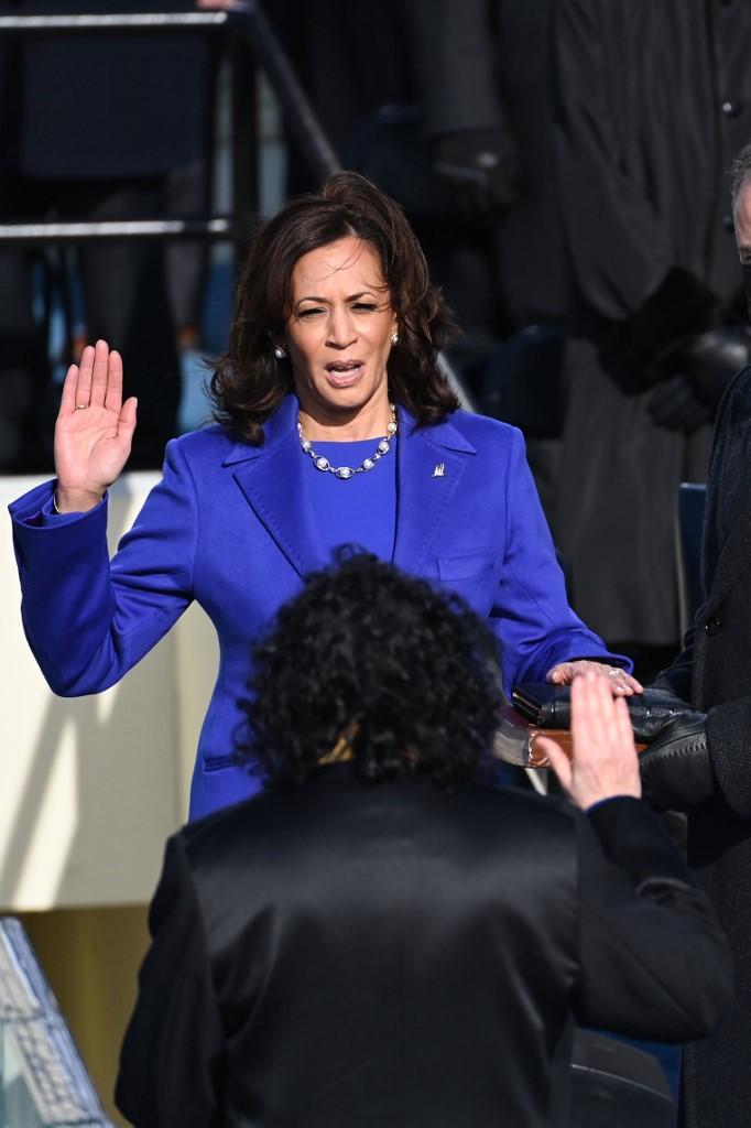 Kamala Harris, vicepresidenta de Estados Unidos. Foto: Saul Loeb Pool   Getty Images   AFP