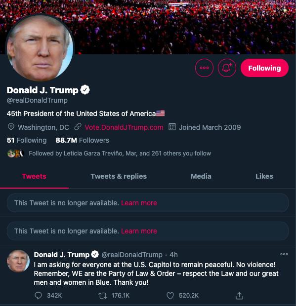 Foto: Donald Trump Twitter