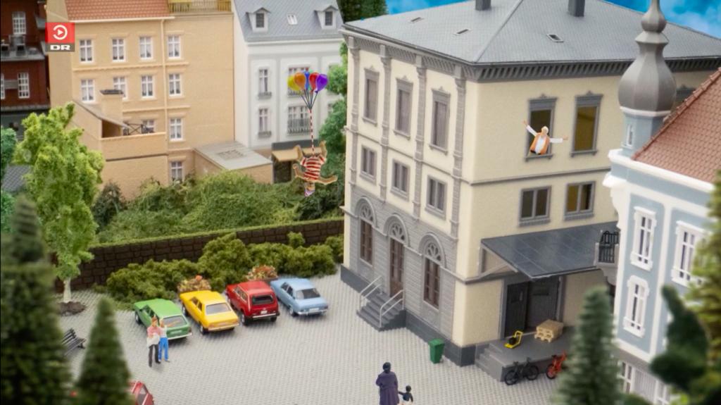 Programa de televisión para niños en Dinamarca. Foto: captura de pantalla DR