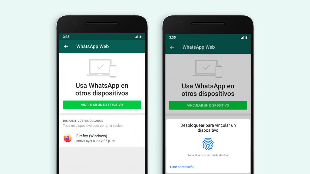 La función de seguridad llegará a Android y iPhone. Foto: WhatsApp